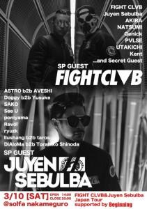 Fight Clvb_Juyen Sebulba_Tokyo